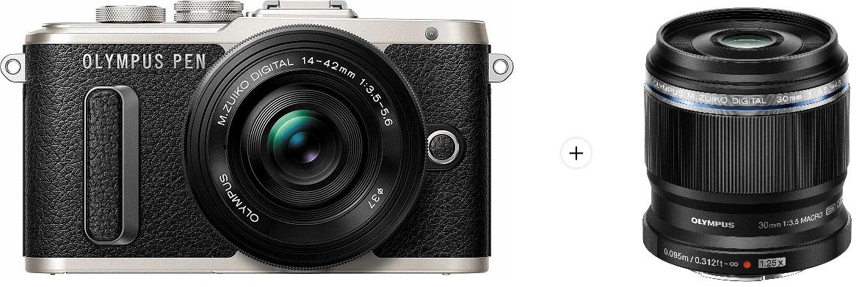 Bild zu Systemkamera Olympus Pen E-PL8 Kit 14-42 mm und dem Olympus M.Zuiko 30 mm für 349€ (Vergleich: 543,80€)