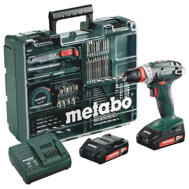 Bild zu Akku-Bohrschrauber Metabo BS 18 Quick für 149,95€ (Vergleich: 185€)
