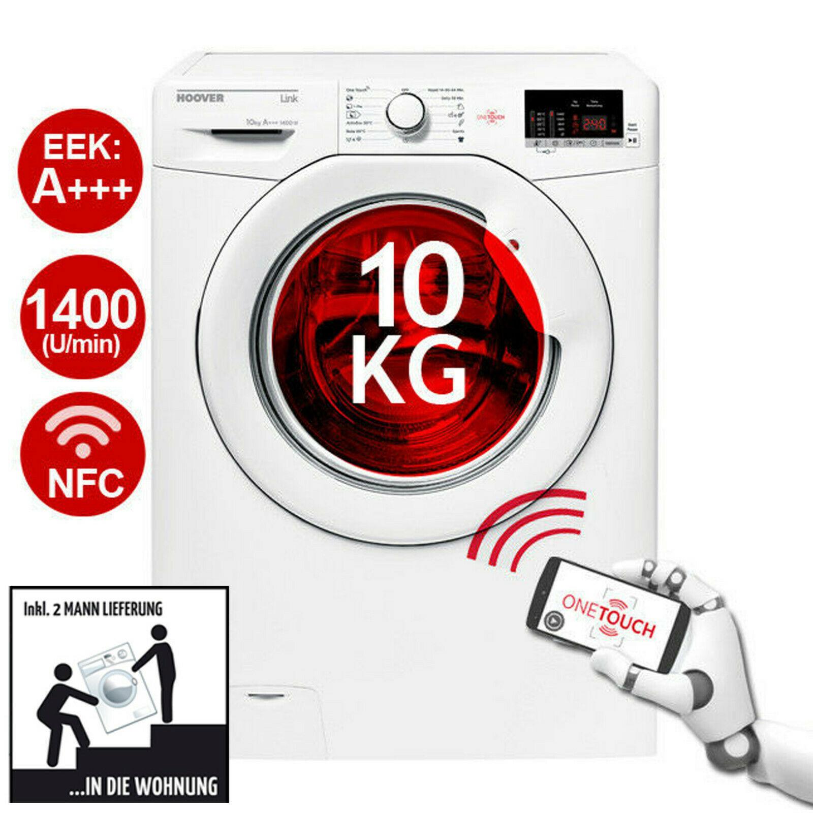 Bild zu 10kg Waschmaschine Hoover HL 14102D3-S für 289,90€ (Vergleich: 349,90€)