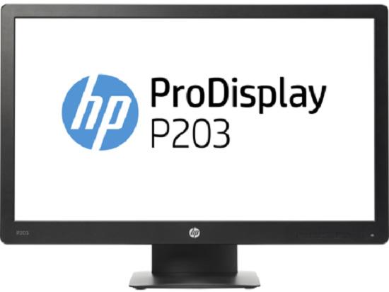 Bild zu 20 Zoll LED-Monitor HP ProDisplay P203 für 59€ (Vergleich: 87,90€)