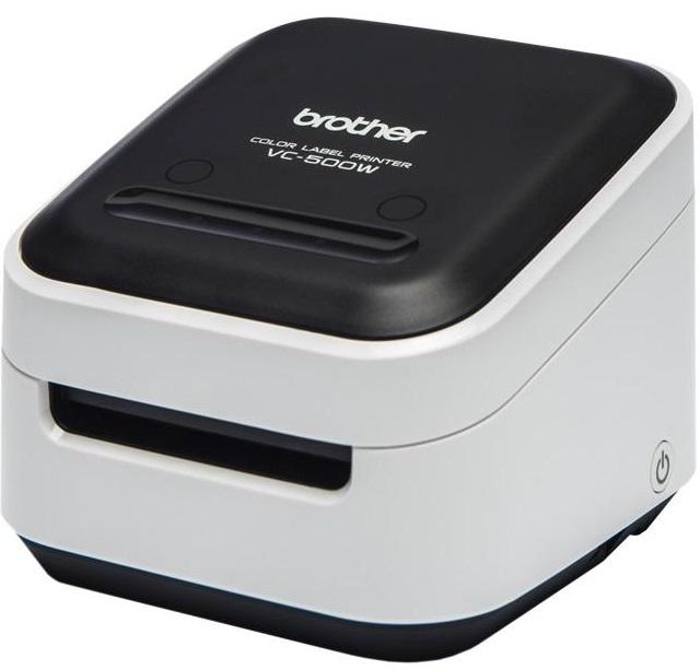 Bild zu Vollfarb-Etikettendrucker Brother VC-500W für 99,90€ (Vergleich: 121,89€)