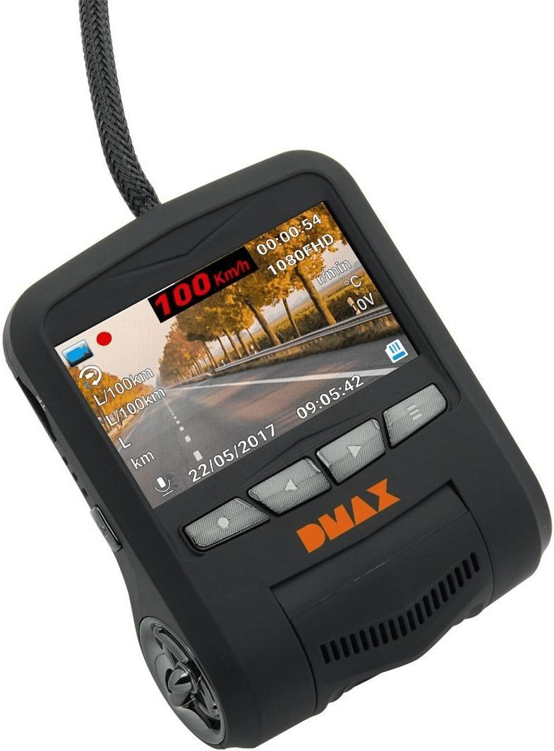 Bild zu DMAX Full-HD OBD Dashcam für 40,90€ (Vergleich: 67,63€)