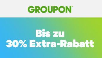 Bild zu Groupon: Bis zu 30% Rabatt auf einen Deal