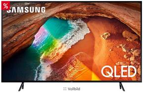 Bild zu Otto: 20% Rabatt auf ausgewählte Samsung-Artikel, so z.B.: Samsung GQ82Q60RGTXZG QLED-Fernseher (207 cm/82 Zoll, 4K Ultra HD, Smart-TV) für 2.325,15€ (VG: 2.499€)