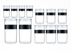 Bild zu Bodum Vorratsdosen-Set PRESSO 12-teilig für 36,94€ (Vergleich: 71,95€)