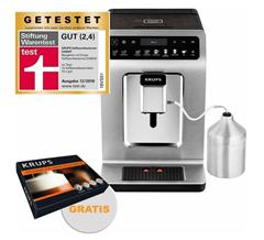 Bild zu Krups Evidence Plus Kaffeevollautomat EA894 + Krups ZES6000 Pflegeset für 599€ (Vergleich: 731,85€)
