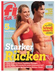 """Bild zu 12 Ausgaben der Zeitschrift """"Fit For Fun"""" für 43,20€ inkl. 40€ Verrechnungscheck für den Werber"""