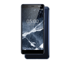 Bild zu NOKIA 5.1 Smartphone 16 GB Blau Dual SIM für 99€