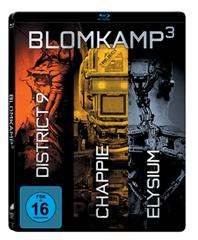 Bild zu Chappie/District 9/Elysium (Steelbook) [Blu-ray] für 9,99€ (Vergleich: 22,96€)
