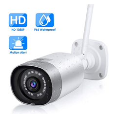 Bild zu Mbuynow IP Kamera (WLAN, Full HD 1080P, IP66, 110° Weitwinkel Objektiv) für 34,99€