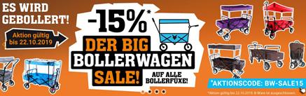 Bild zu Fuxtec: 15% Rabatt auf Bollerwagen