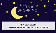 Bild zu Jeans Direct: 15% Rabatt auf alles bis Mitternacht – Late Night Shopping