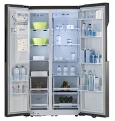 Bild zu LG GSL360ICEZ Side-by-Side (Crushed Ice- und Wasserspender, A++) für 920,55€ (Vergleich: 1.068,90€)