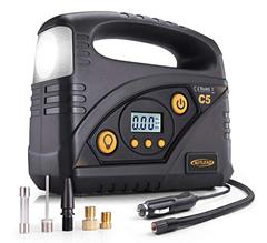 Bild zu AUTLEAD Auto Luftkompressor C5 12V (LED-Taschenlampe und SOS-Modus) für 22,19€