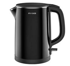 Bild zu Miroco elektrischer Wasserkocher aus Edelstahl 1,5L für 26,90€