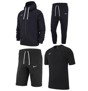 Bild zu Nike Freizeit Outfit Team Club 19 4-teilig (Hose, Zip-Hoody, Shorrt + Shirt) für 79,95€