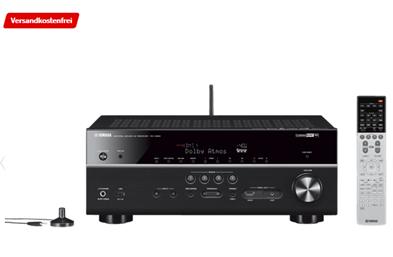 Bild zu YAMAHA RX-V683 AV-Receiver (7.2 Kanäle, Schwarz) für 399€