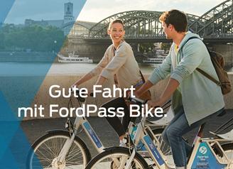 """Bild zu ein Jahr Bikesharing """"FordPass"""" gratis anstatt 39€"""