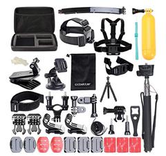 Bild zu ccbetter GoPro Kit (Case, Gurte, Befestigungen usw.) 50/52-teilig ab 14,79€