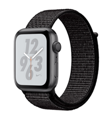 Bild zu Apple Watch Series 4 Nike+ GPS 44 mm space grau Sport Loop für 365,08€ (Vergleich: 414,80€)