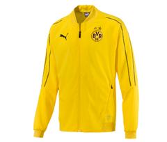 Bild zu Puma BVB Borussia Dortmund Herren Leisure Jacket Trainingsjacke gelb für 17,99€ (Vergleich: 29,08€)