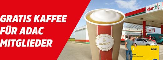Bild zu ADAC Mitglieder: bei star tanken, 1 Cent sparen und Dallymayr Kaffee gratis
