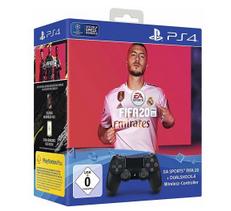 Bild zu Sony DualShock 4  Controller V2 (Jet Black) + FIFA 20 für 79,99€