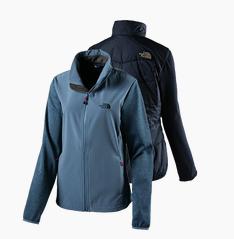 Bild zu THE NORTH FACE Damen Wanderjacke Arashi Hybrid für 63,94€
