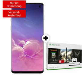 Bild zu Samsung S10 mit Xbox One S 1TB – The Division 2 Bundle für 99€ im Telekom Netz mit 6GB LTE, SMS und Sprachflat für 29,95€/Monat