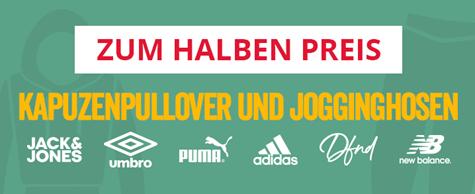 Bild zu MandMdirect: Kapuzenpullover und Jogginghosen zum halben Preis