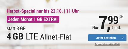 Bild zu Simply: monatlich kündbaren Vertrag im o2-Netz mit 4GB LTE Datenflat, SMS und Sprachflat für 7,99€/Monat