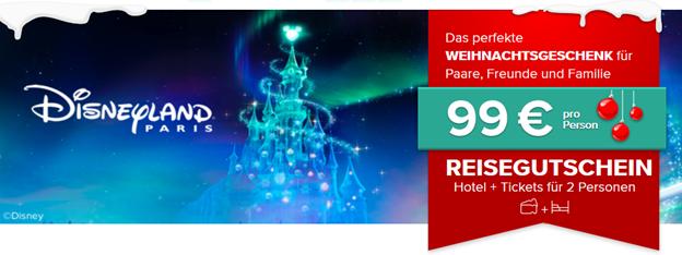 Bild zu Disneyland Paris mit Hotel und Ticket für 99€ pro Person