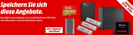 Bild zu [TAG 1] MediaMarkt Speicherwoche, heute z.B. SANDISK SDSSDA-1T00-G26 SSD Plus, 1 TB SSD, 2.5 Zoll, intern für 88€