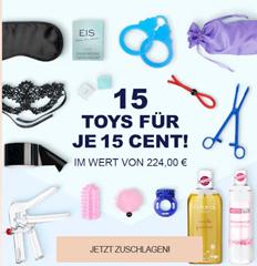 Bild zu Eis.de: Sale mit bis zu 95% Rabatt, so z.B. 15 Toys für je 15 Cent