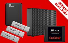Bild zu [TAG 3] MediaMarkt Speicherwoche, heute z.B. SEAGATE IronWolf, 4 TB HDD, 3.5 Zoll, intern für 129,99€
