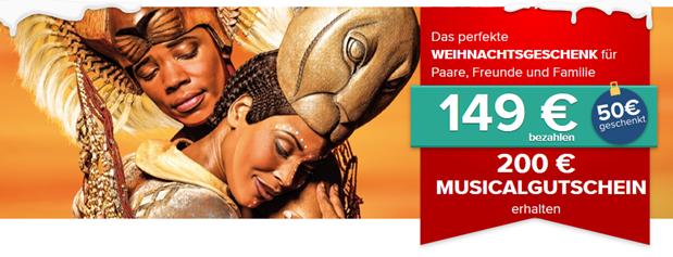Bild zu Travelcircus: 200€ Musicalgutschein für 149€