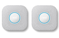 Bild zu Google Nest Protect 2er-Pack – Rauch- und Kohlenmonoxidmelder, 2. Generation für 189€