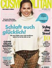 """Bild zu 12 Ausgaben (Jahresabo) der Zeitschrift """"Cosmopolitan"""" für 38,40€ + 35€ Prämie für den Werber"""