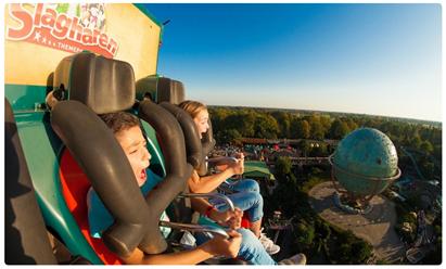 Bild zu eine Eintrittskarte für den Erlebnispark Slagharen (Niederlande) für 13,50€