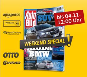 """Bild zu [noch bis 12 Uhr] Jahresabo """"Auto Bild"""" für 127,60€ + bis zu 110€ Prämie"""
