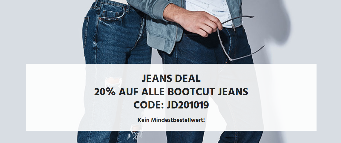 Bild zu Jeans Direct: 20% Rabatt auf alle Bootcut Jeans