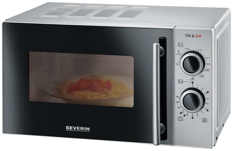 Bild zu Severin MW 9282 Mikrowelle mit Grill für 55€ (Vergleich: 65€)