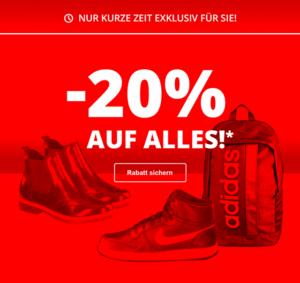 Siemes Schuhcenter: 20% Rabatt auf das gesamte Sortiment (30