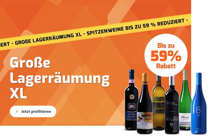 Bild zu Weinvorteil: Räumungsverkauf mit Weinen ab 3,99€ pro Flasche