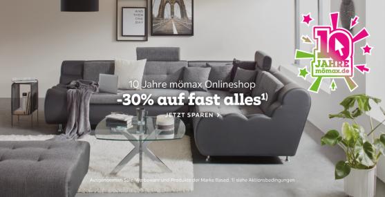 Bild zu Mömax: 30% Rabatt auf fast alles im Online Shop