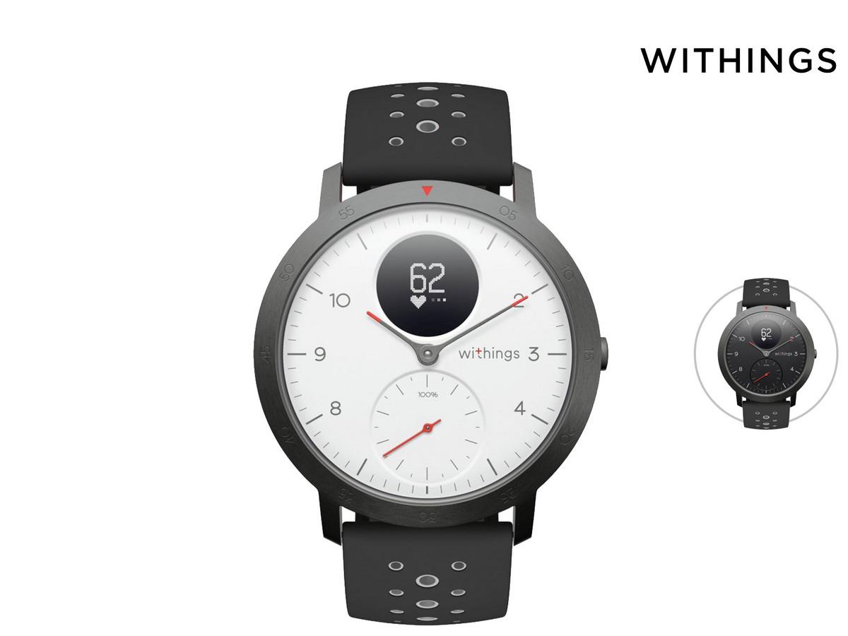 Bild zu Withings Steel HR Sport Smartwatch für 125,90€ (Vergleich: 149,90€)