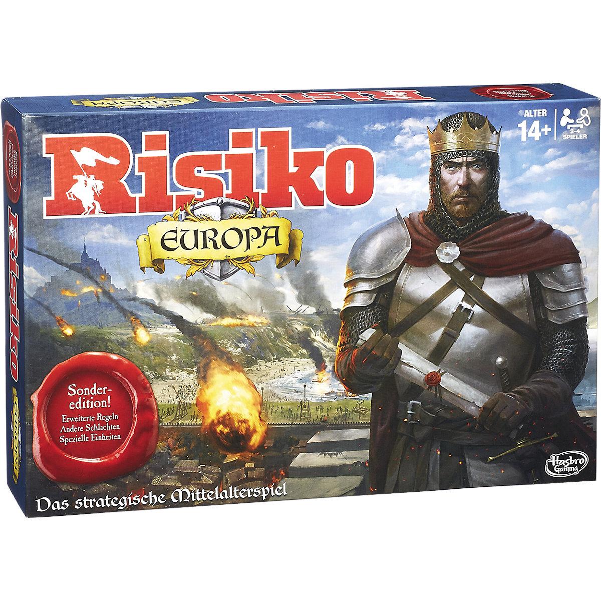 Bild zu Gesellschaftsspiel Hasbro Risiko Europa für 15,94€ (Vergleich: 21,61€)