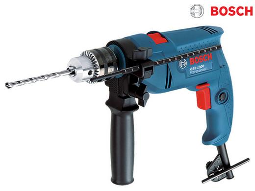 Bild zu Bosch GSB1300 Schlagbohrmaschine für 45,90€ (Vergleich: 56,45€)