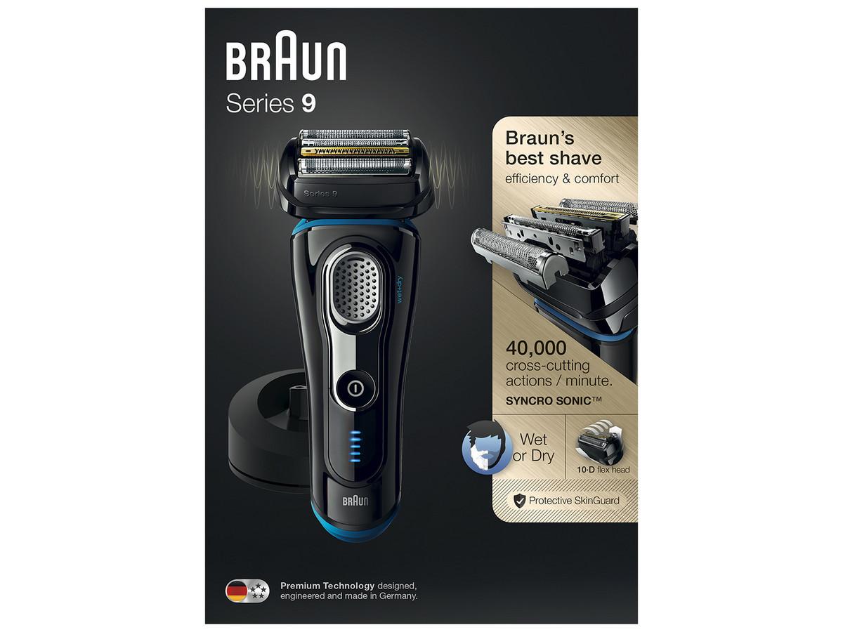 Bild zu Nass- und Trockenrasierer Braun Series 9 9240S für 155,90€ (Vergleich: 175,46€)