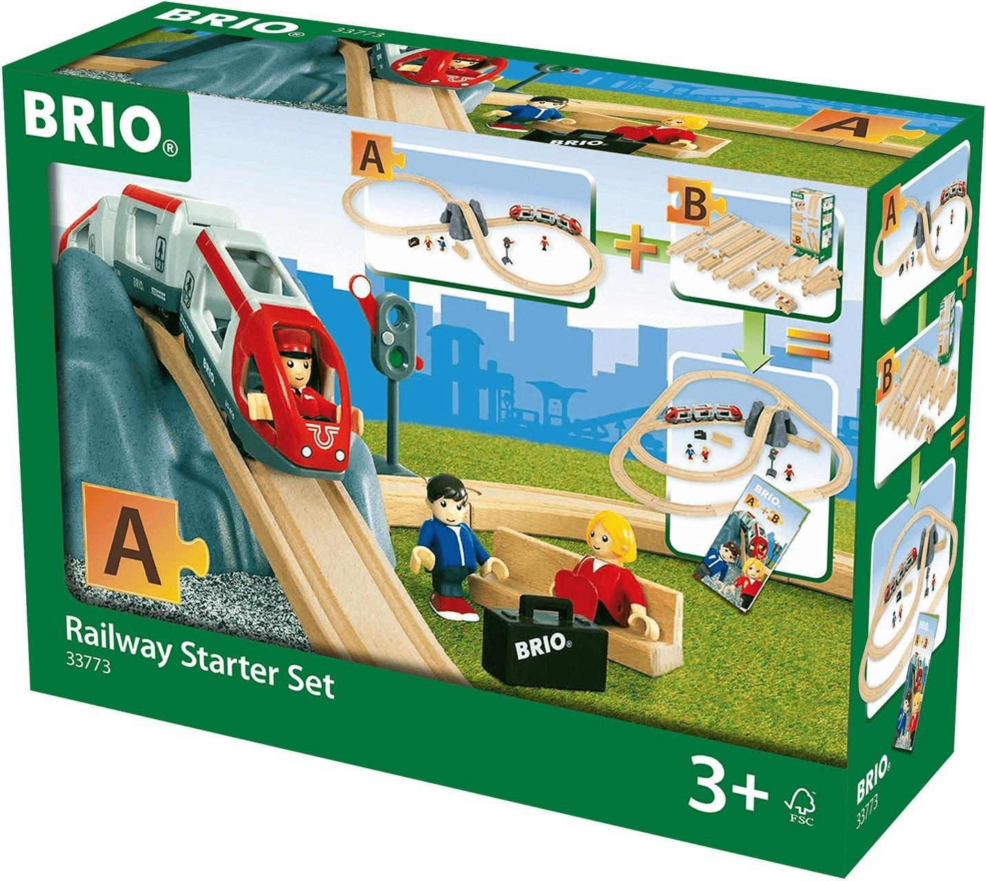 Bild zu Brio World Eisenbahn Starter Set A für 18,99€ (Vergleich: 23,89€)